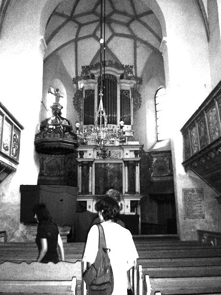 Biserică sală de mici dimensiuni