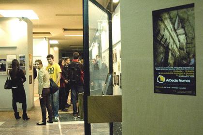 vernisajul expozitiei de la Bucuresti