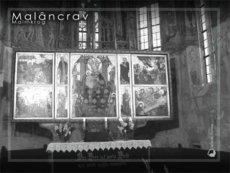 Altarul bisericii, imaginea din expoziţie