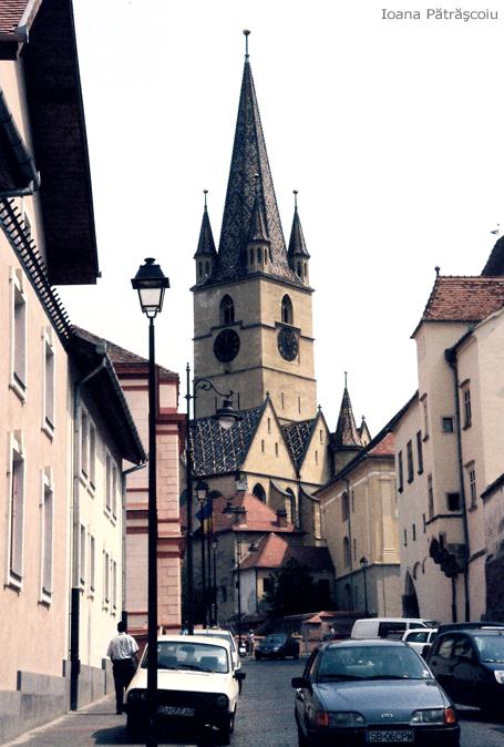 Ioana Pătrăşcoiu, Catedrala Evanghelică