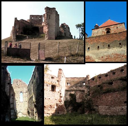 Ruinele cetăţii de la Slimnic